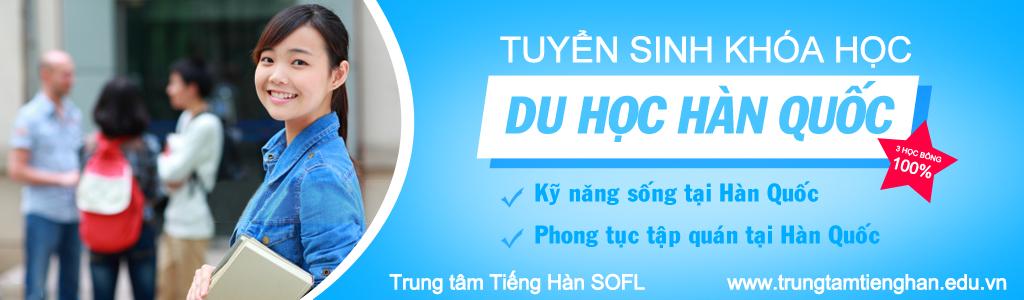 Lớp học tiếng Hàn tại Hà Nội 1