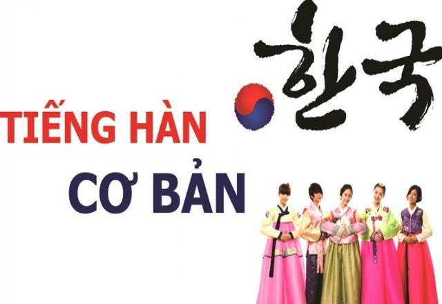 Lớp học tiếng Hàn cơ bản tại Hà Nội