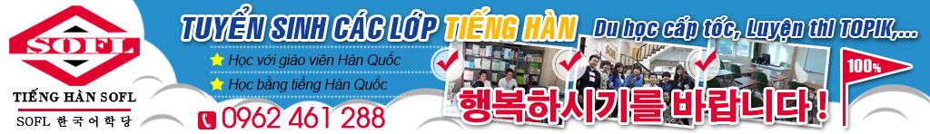 Lớp học tiếng Hàn - Trung tâm dạy tiếng hàn tốt nhất Hà Nội