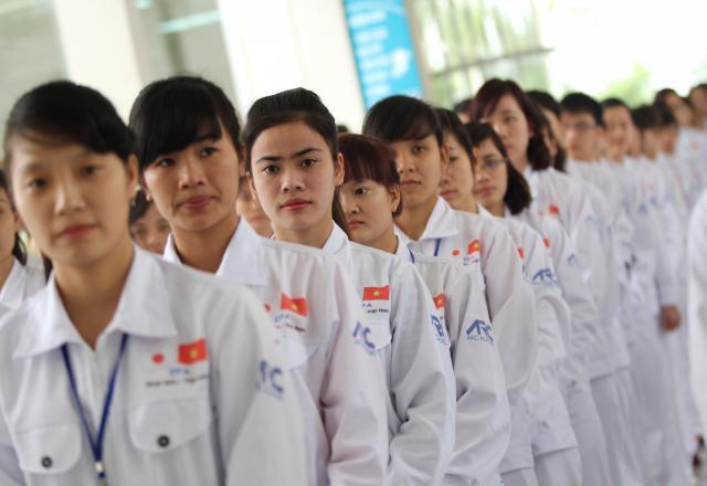 Học tiếng Hàn xuất khẩu lao động ở đâu