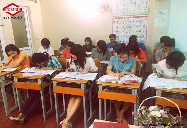 Học tiếng Hàn tại trung tâm tiếng Hàn SOFL có tốt không