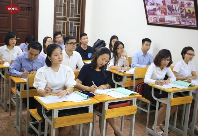 """TOP 3 """"địa chỉ vàng"""" trung tâm tiếng dạy Hàn ở Hà Nội"""