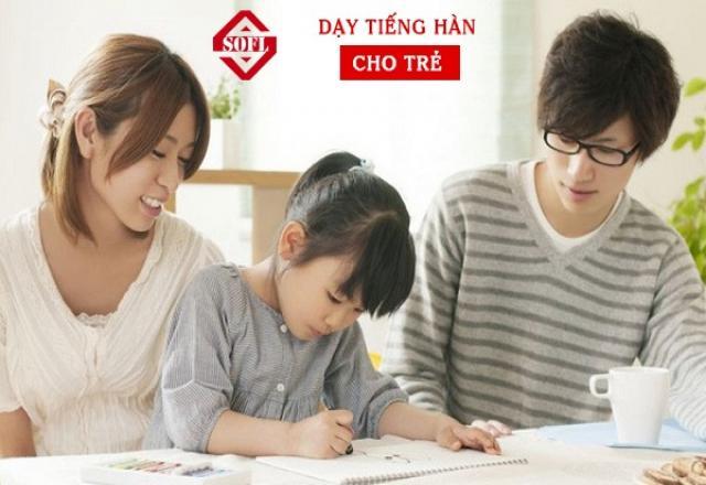 Mách bạn bí quyết dạy tiếng Hàn cho con
